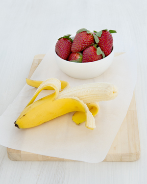 Banana & Strawberries