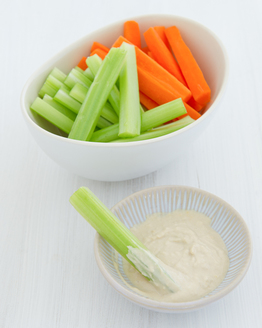 Vegie Sticks with Hummus