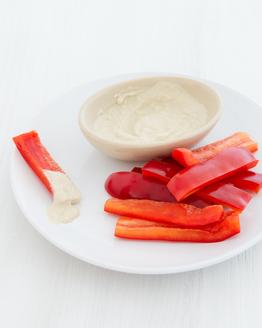 Capsicum & Hummus
