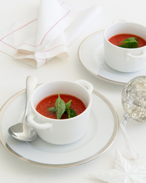 Chilled Tomato & Capsicum Soup