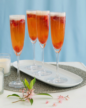 Strawberry Bellini