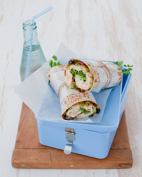 Curried Chicken & Chutney Wrap