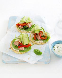 Tzatziki & Tuna Corn Thins