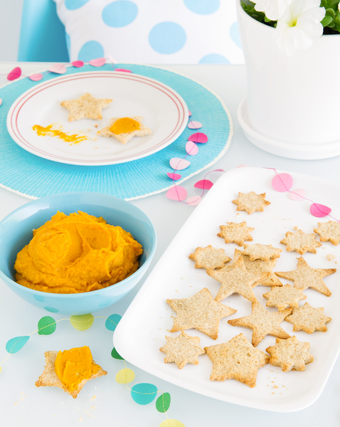 Orange Blast Dip with Star Big Dippers