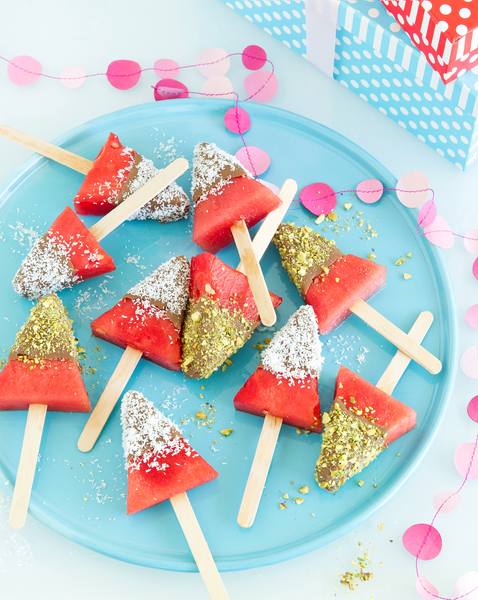 Watermelon Choc-Tops
