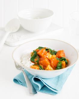 Sweet Potato, Tofu & Coconut Curry