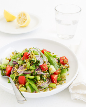 Bean & Freekeh Salad