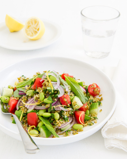 Bean & Freekeh Salad
