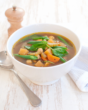 Indian Chickpea Soup
