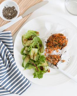 Meatloaf with Salad