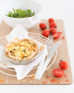 Spinach & Ricotta Pies