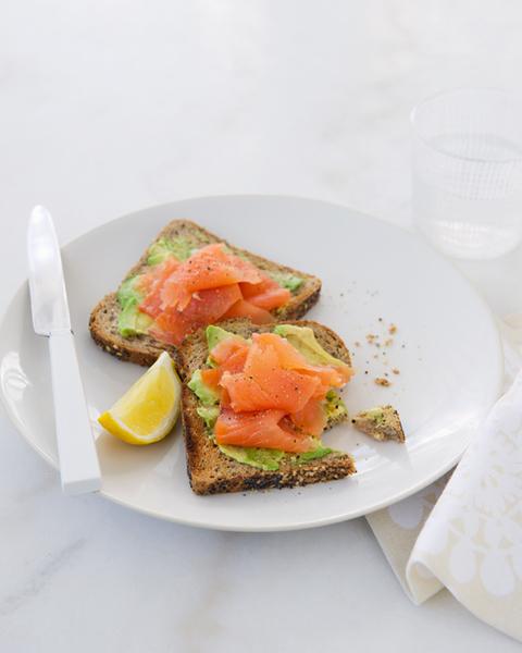Avocado Toast with Smoked Salmon