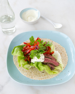 Beef Fajita with Capsicum & Red Onion