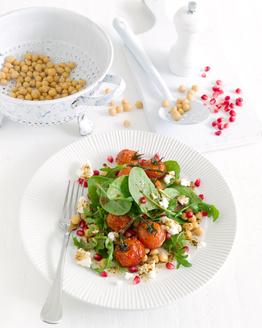 Chickpea, Ricotta & Tomato Salad
