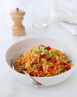 Fresh Brown Rice & Barley Salad