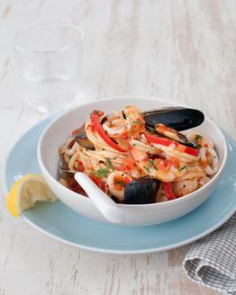 Linguini Marinara with Chilli & Lemon