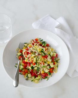 Risoni Pasta Salad