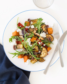 Roast Vegetable Salad with Feta