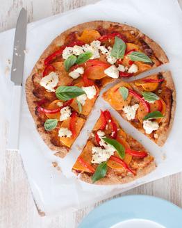 Sweet Potato & Roast Capsicum Pizza
