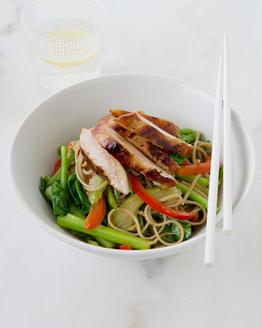 Teriyaki Chicken & Vegetable Stir-fry with Noodles