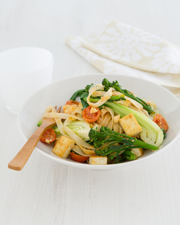 Thai Tofu & Rice Noodle Stir-fry