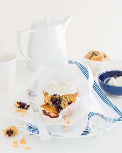 Blueberry & Banana Muffin