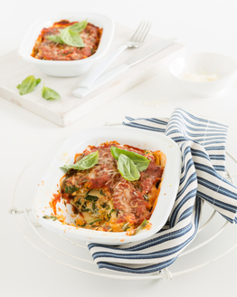 Chicken, Pumpkin & Spinach Lasagne