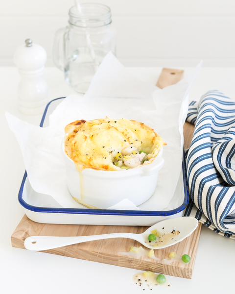Fish Pie with Parsnip & Potato Topping