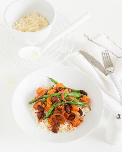 Red Kidney Bean & Vegetable Stew