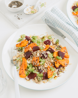 Roast Sweet Potato Salad