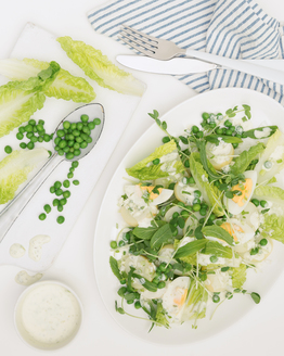 Potato & Pea Salad