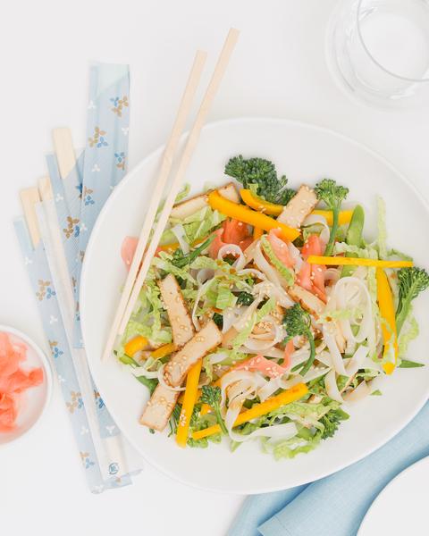 Sweet Tofu Salad
