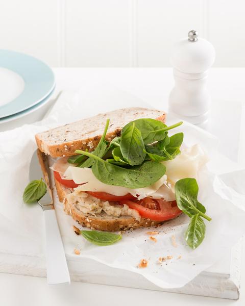 Cannellini Bean Sandwich