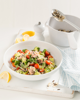 Tuna & Chia Rice Salad