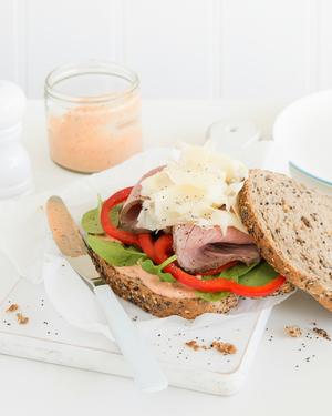 Beef & Harissa Sandwich