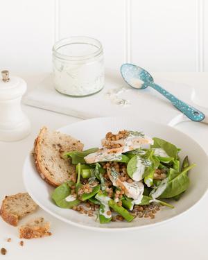 Chicken & Lentil Salad
