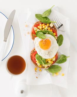 Egg & Avocado Corn Muffin