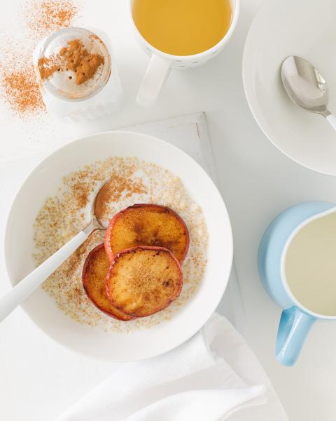 Quinoa Porridge with Caramelised Apples