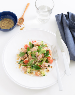 Quinoa, Mint & Tuna Salad