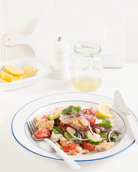 Fattoush-Style Salad