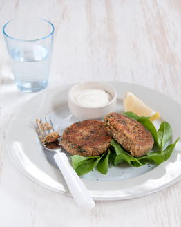 Quick & Easy Chickpea Rissoles
