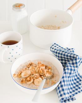 Nutty Banana Porridge