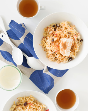 Apple Couscous with Yoghurt