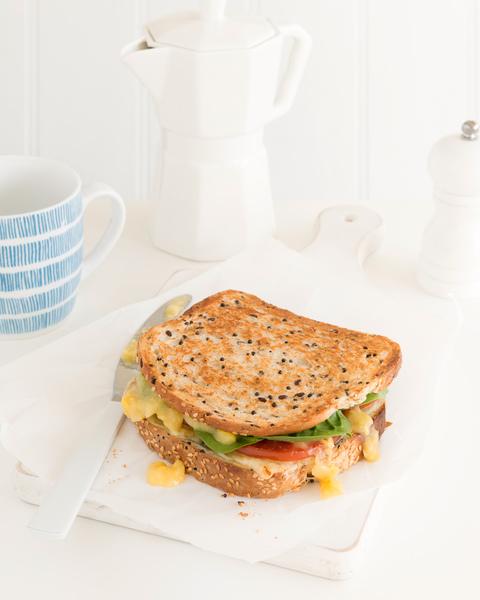 Tomato, Corn & Cheese Toasted Sandwich
