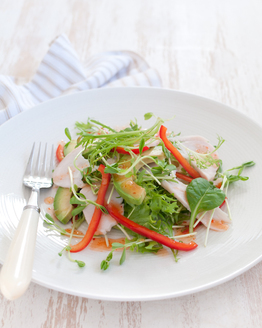 Thai Turkey Salad with Avocado