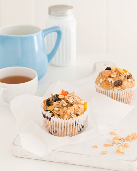 Blueberry & Muesli Muffin