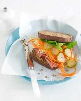 Pastrami & Cheddar Sandwich
