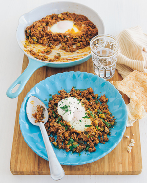 Moroccan Breakfast Eggs
