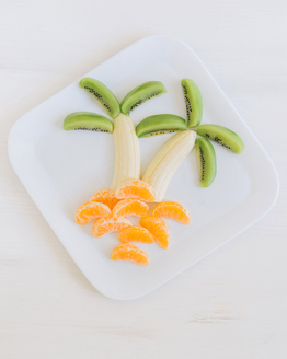 Palm Tree Fruit Salad