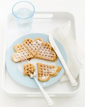 Apple, Raisin & Cinnamon Waffles